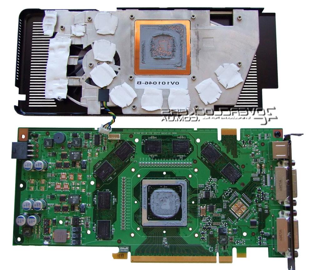 замена термопасты VGA