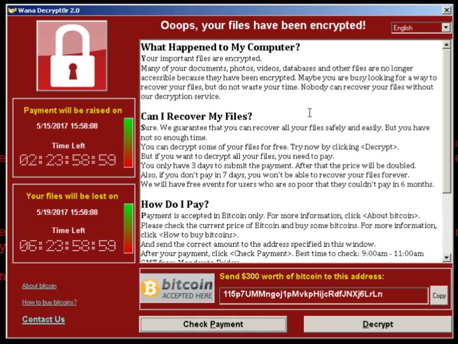 WannaCry вирус