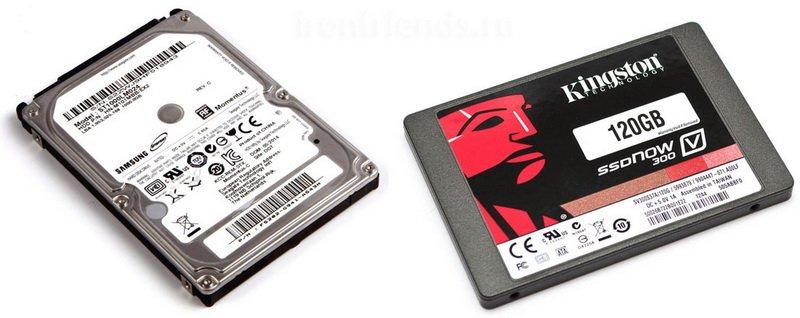 замена диска в ноутбуке