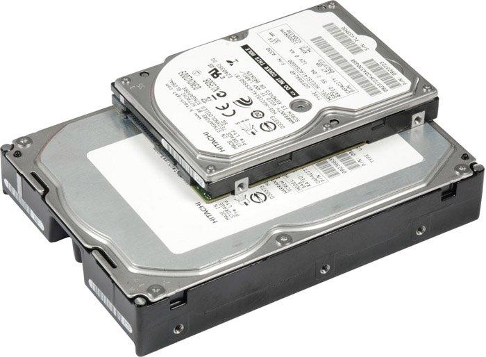 установка жестких дисков