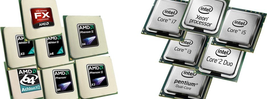 замена процессора в ПК